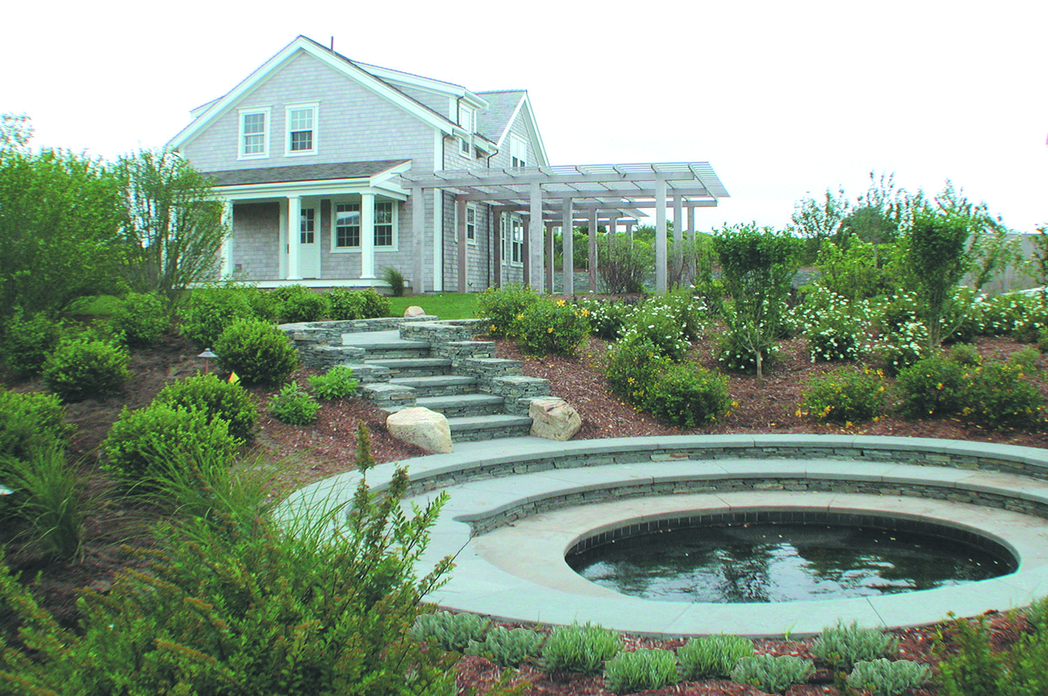 Portfolio DBLA Spa Nantucket Greenleaf Landscape Architecture