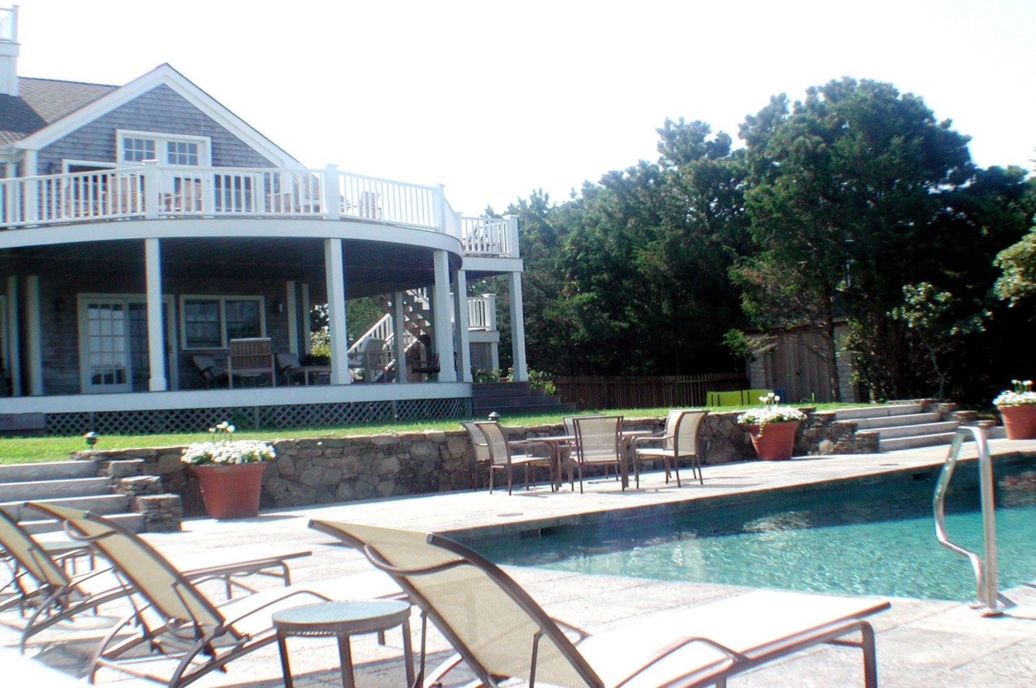 Portfolio DBLA Swimming Pool Nantucket Brewster Rd. Landscape Architecture