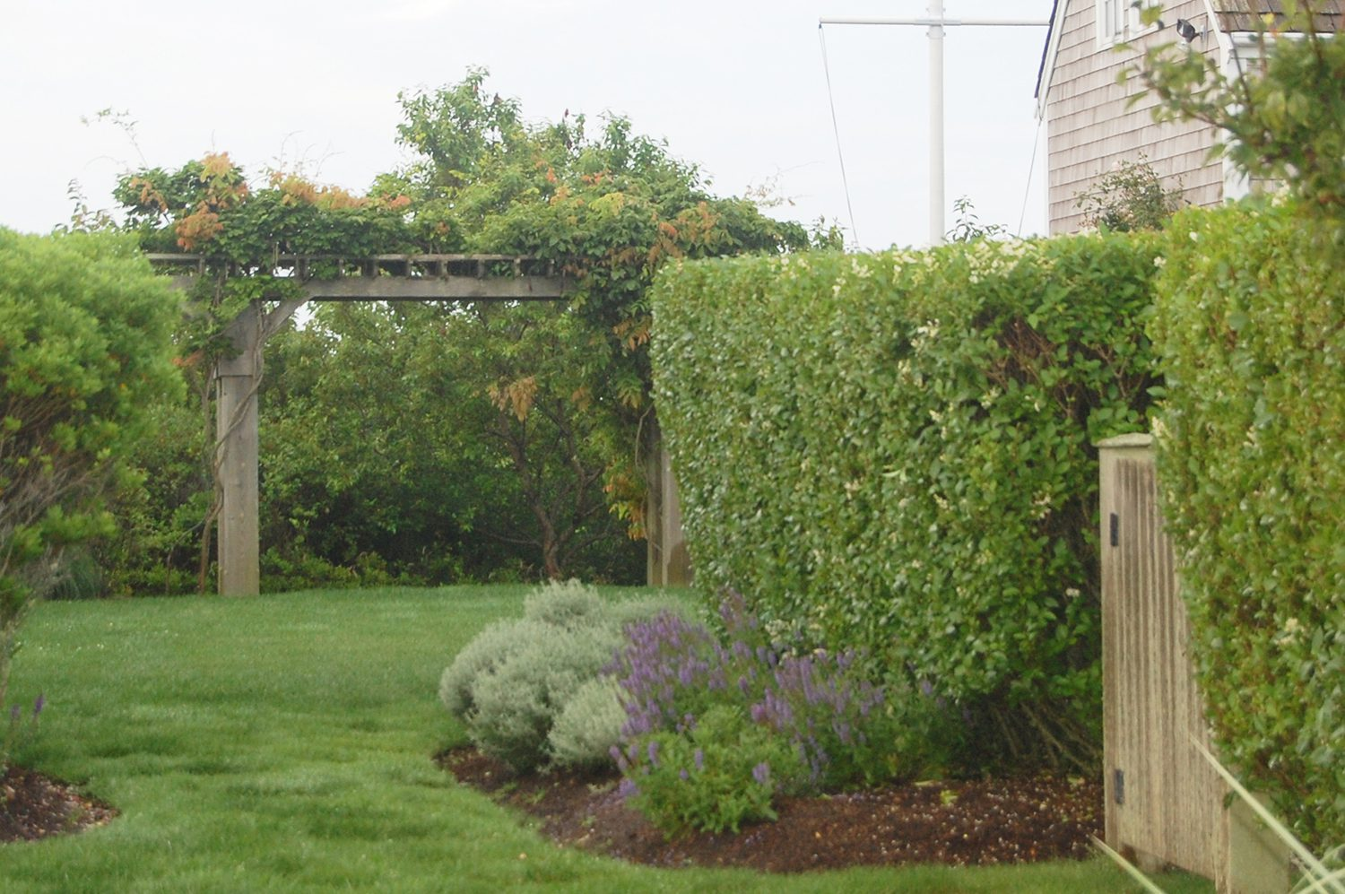 Portfolio DBLA Pergola Nantucket Eel Point Landscape Architecture