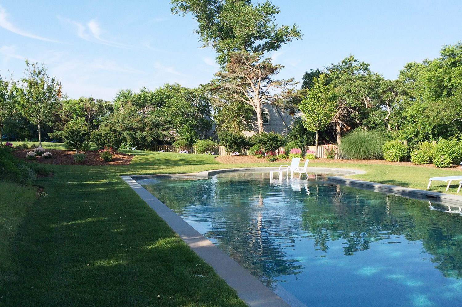 private pool example of the work of a landscape architect 1