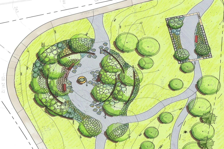Porfolio DBLA Public Park at Cordaville 3 Landscape Architecture