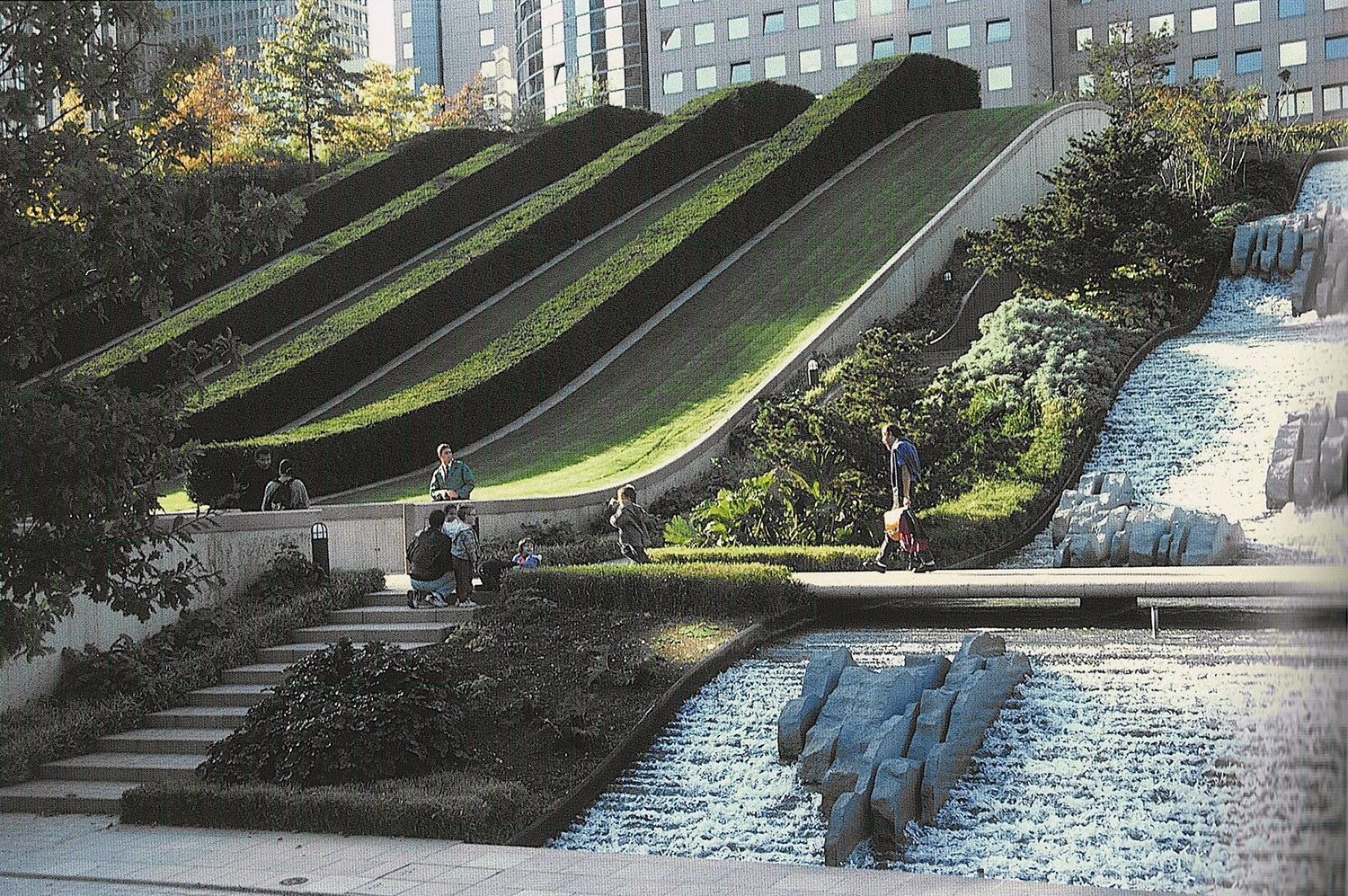public park example of the work of a landscape architect 1